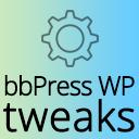 WordPress plugin: bbPress WP Tweaks