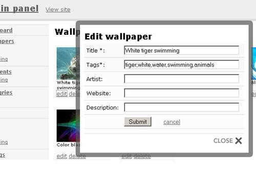 Free Wallpaper Script